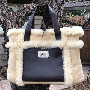 UGG Shearling Handle Bag